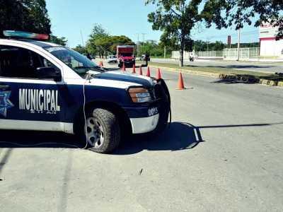 ¿QUIEREN PROVOCAR MIEDO… O PENA?: Colocan patrullas en mal estado para vigilar entradas y salidas de Chetumal