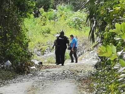 Con el tiro de gracia, hallan a taxista ejecutado a la altura del hotel Palladium Kantenah, al sur de Playa del Carmen