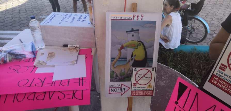PROTESTA EN PUERTO MORELOS (5)