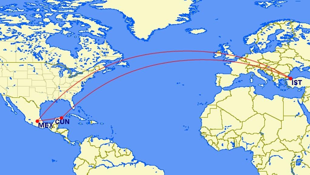 Nueva ruta Cancún-Estambul lista para iniciar operaciones