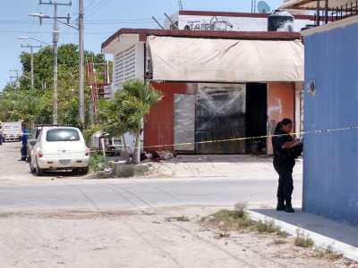 Ejecutan a balazos en plena calle a un hombre en la SM 226 de Cancún