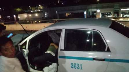 mere taxista al chocarse (3)