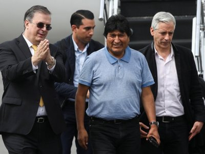 EVO YA ESTÁ EN MÉXICO: Agradece ex Presidente de Bolivia a AMLO por salvarle la vida al ofrecerle asilo político