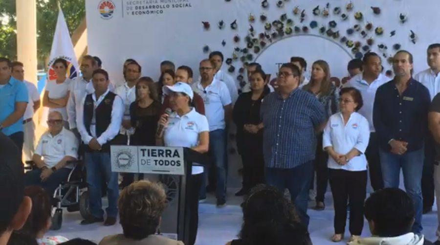 Reunión con la Semar para definir acciones contra el recale de sargazo en 2020 provocó retraso de la última audiencia pública en Cancún, asegura Mara Lezama