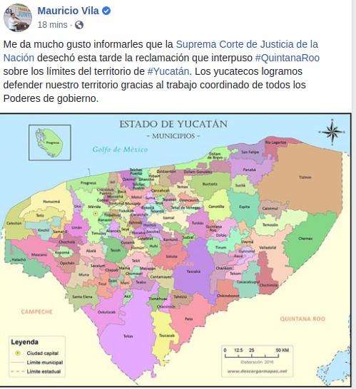 Yucatán celebra otra victoria en defensa del territorio