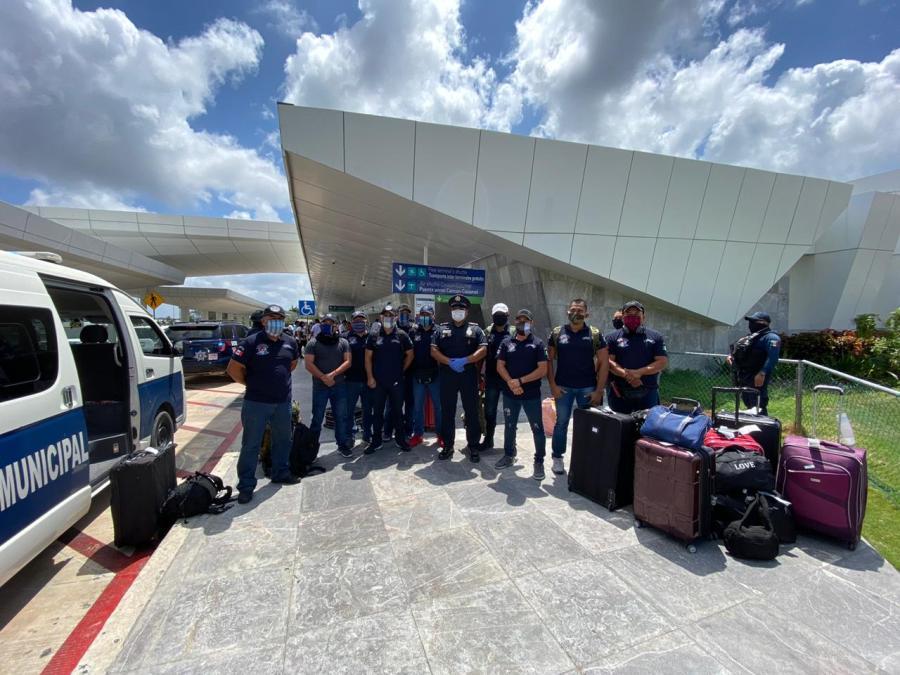 Regresan a casa, policías playenses varados en Perú – Noticaribe