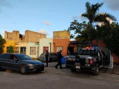 BALEAN A SUPERVISOR DEL C-4 DE CANCÚN: Disparan contra agente de la Policía estatal en su casa en la Región 202