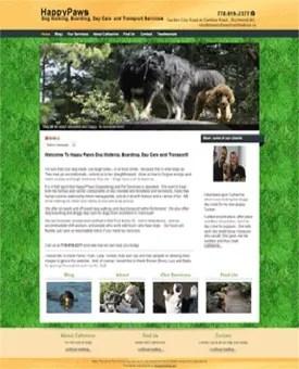 Custom website design example   Noticedwebsites