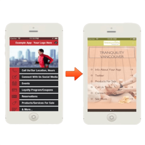 Examples of Mobile App Home Screens | Noticedwebsites