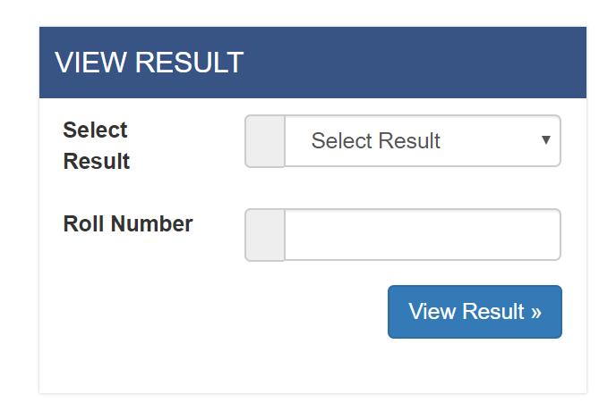 tu exam result