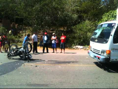 Imagen de referencia accidente Chinandega