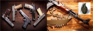 Ocupan a un dominicano 8 armas y una granada en Lawrence