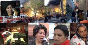 Familias dominicanas afectadas por incendio en Brooklyn
