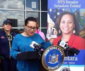 senadora marisol alcantara habla de asma
