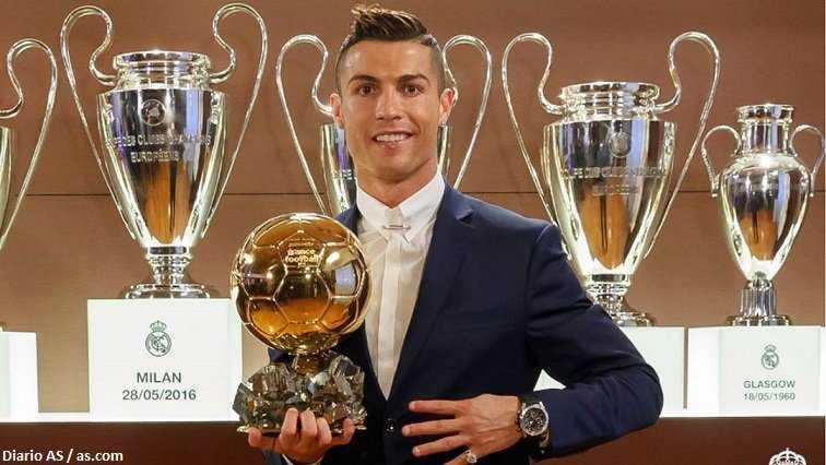 Cristiano Ronaldo favorito para ganar quinto balón de oro