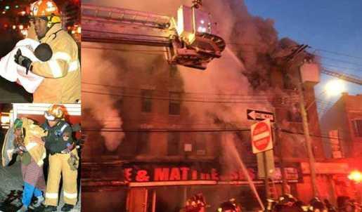 Aumenta a 16 lesionados por fuego este martes en El Bronx