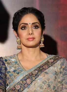 Fallece la actriz Sridevi