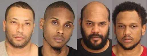 Cuatro atracadores dominicanos se declaran culpables