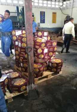 Salud Pública incauta 3,565 libras de queso vencidos