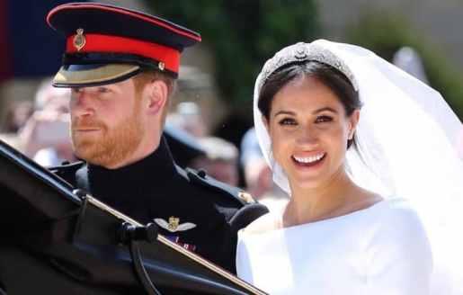 El principe Enrique y Meghan Markle se dan el sí frente al altar