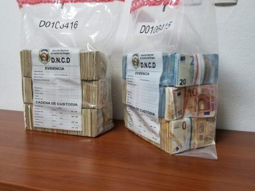 DNCD se incauta de más de 690 mil euros