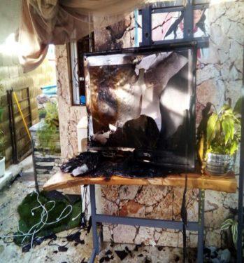 Resultado de imagen para Desconocidos intentan quemar la casa de exteniente La Soga
