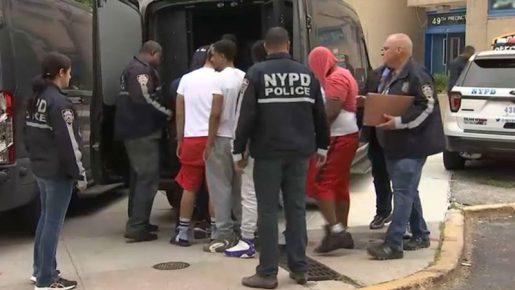 Veinte pandilleros arrestados en El Bronx