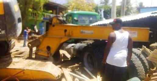 Mujer muere aplastada por patana en Costambar