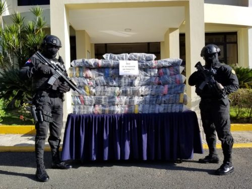 Decomisan 193 kilos de cocaína en Higuey