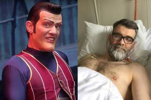 "Muere actor de ""Lazy Town"" que interpretó a Robbie Rotten"