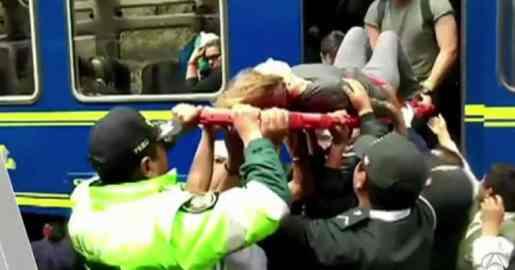 Perú: Choque de trenes deja varios heridos