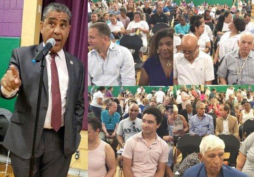 Espaillat realiza fórum comunitario sobre rezonificación en Alto Manhattan