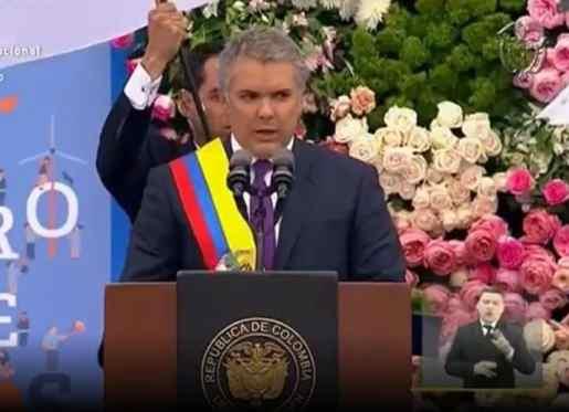 Iván Duque asume como presidente de Colombia