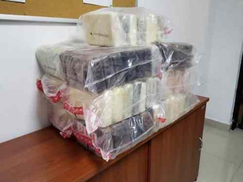 91 kilos de cocaína serían llevados a Francia