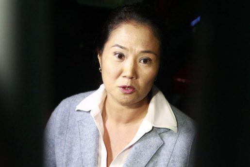 Keiko Fujimori con detención preliminar por orden judicial