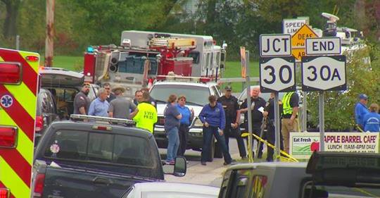 Una limusina chocó y 20 personas fallecieron