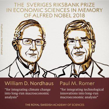 Nobel economía premia estudio efectos cambio climático en crecimiento