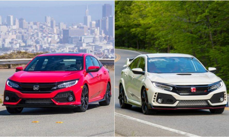Honda Civic Tipo R y el Civic Hatchback 2019