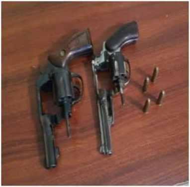 Apresan dominicano y haitianos con armas ilegales