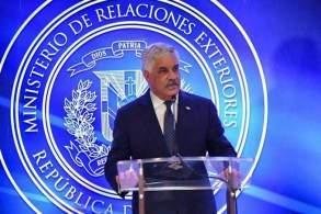 Canciller atribuye a rumores versión EEUU quiere excluir rd de DR-Cafta