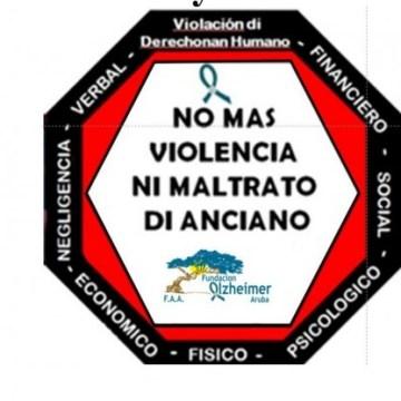 'Bisa NO Violencia y Abuso di Anciano' Fundacion Alzheimer Aruba
