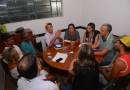 Comissão Especial se reúne com feirantes para discutirem o reordenamento das barracas na área externa do Estádio Geraldão