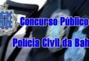 Inscrições abertas para concurso da Polícia Civil; salários chegam a R$ 11 mil