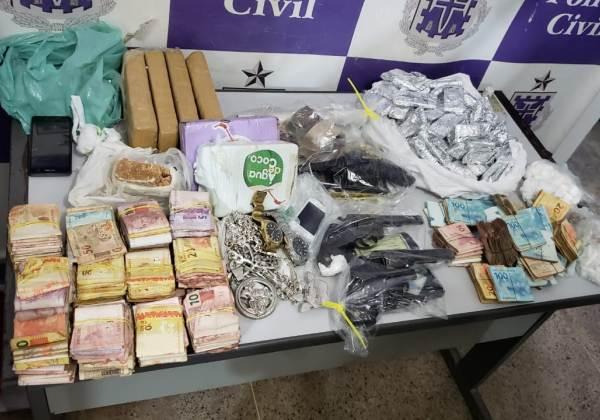 ALAGOINHAS BA :Seis homens são presos e R$ 75 mil apreendidos em operação integrada