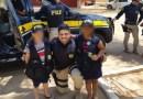 Barreiras: PRFs interagem com crianças durante visita a instituições que acolhem menores em situação de vulnerabilidade
