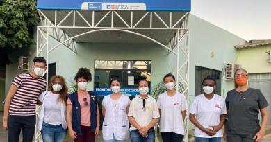 Barreiras recebe visita de equipe do Médicos Sem Fronteiras