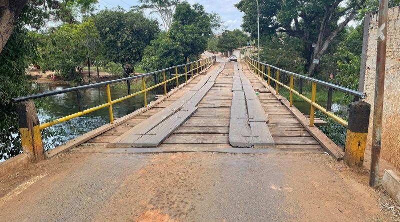 Prefeitura de Barreiras interdita, temporariamente,  Ponte de acesso ao Angélica Ayres para reforma