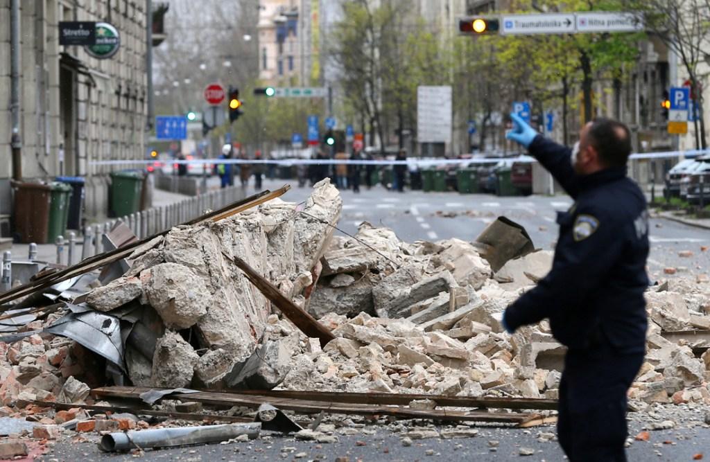 Reportan varios muertos y heridos tras fuerte sismo en Croacia