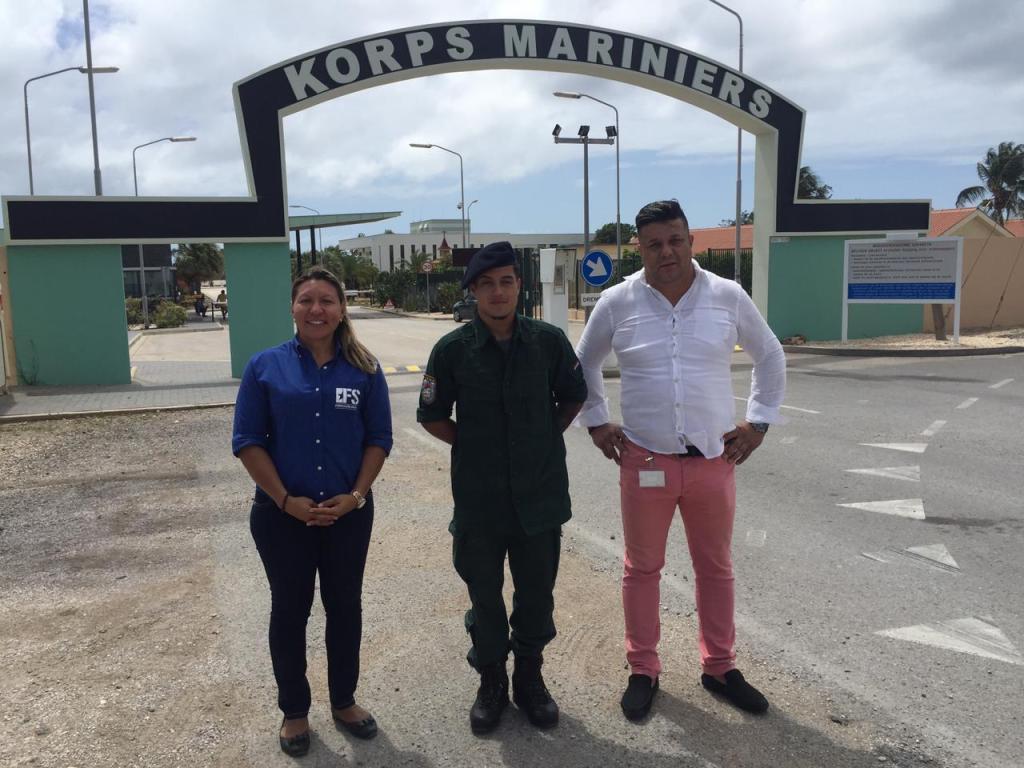 Gobierno brinda apoyo a los jóvenes a través de programa de formación social en Marinierskazerne Savaneta