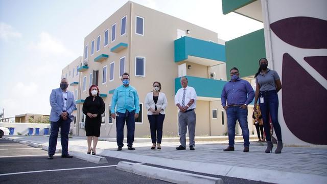 Primera Ministra Evelyn y Ministro Glenbert visitaron los proyectos de FFCA